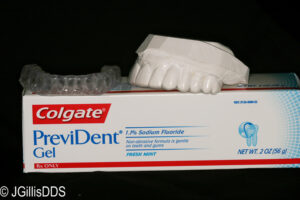 This winning combination of fluoride trays and PreviDent may help prevent future decay and tooth loss!